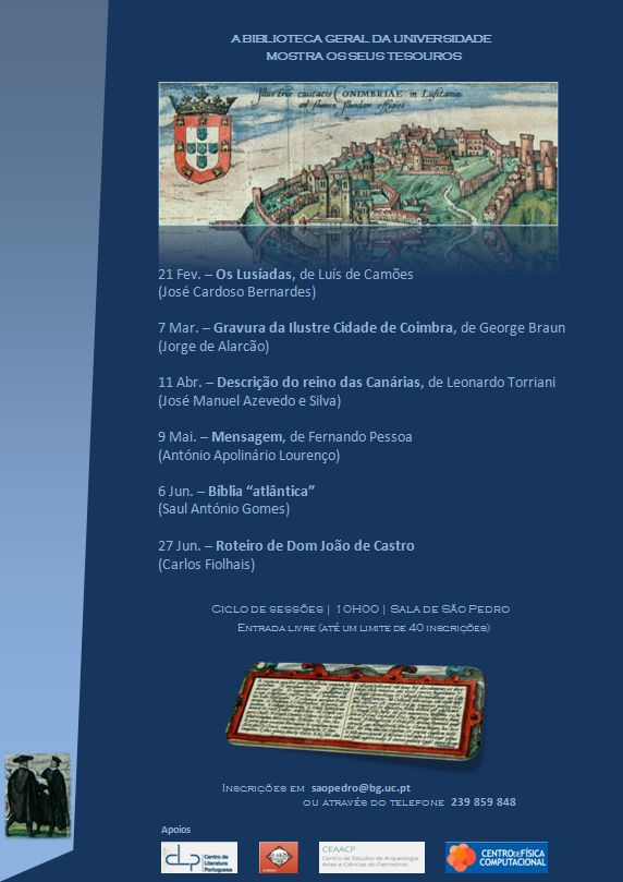 CARTAZ 0 - BIBLIOTECA GERAL MOSTRA TESOUROS . 2015