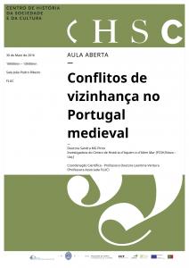 30.05.2016 - Aula Aberta - Conflitos de vizinhança no Portugal medieval