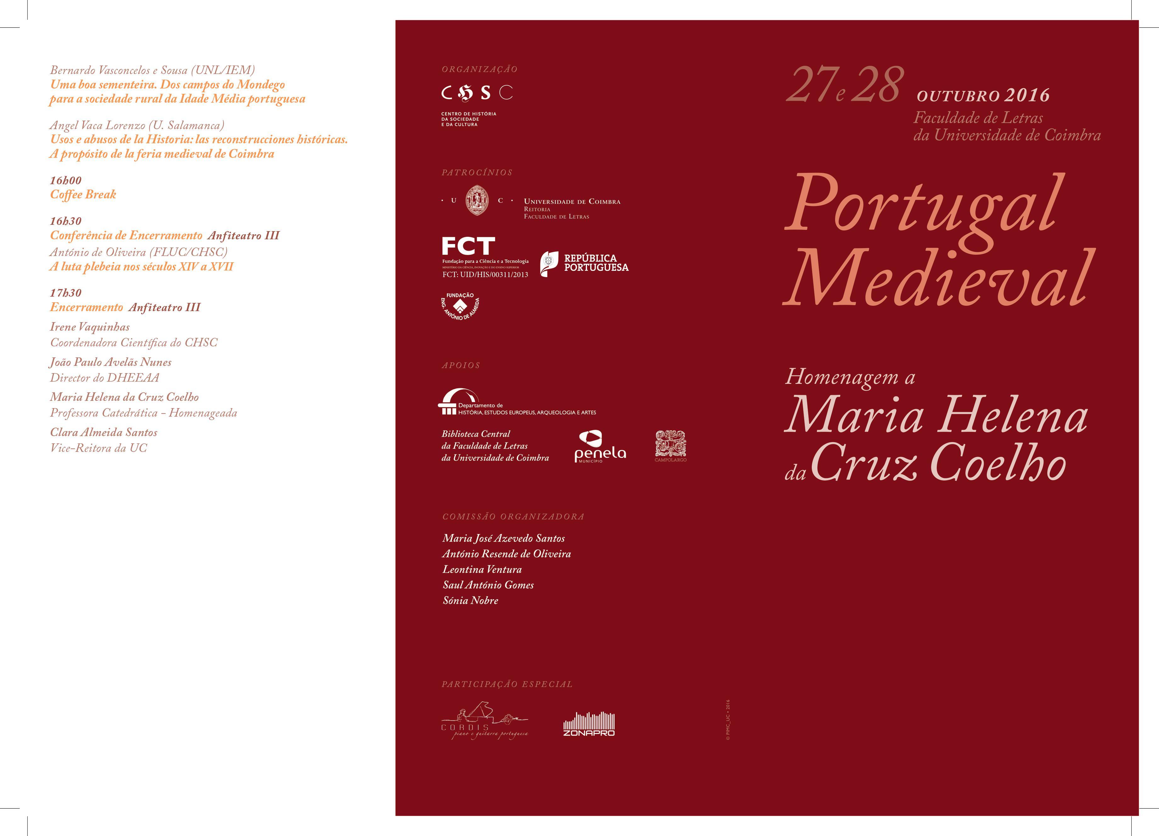 Portugal Medieval. Homenagem a Maria Helena da Cruz Coelho