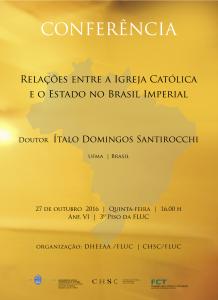 Cartaz Ítalo SANTIROCHI OUT 2016
