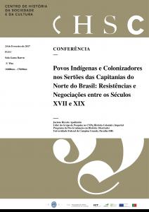 Cartaz - Povos Indígenas e Colonizadores
