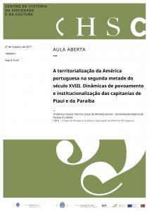 27 de Outubro - Aula Aberta - Professor Doutor Antonio Cesar de Almeida Santos