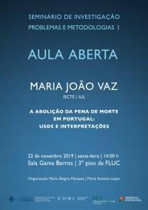 22.11.2019 - AULA ABERTA
