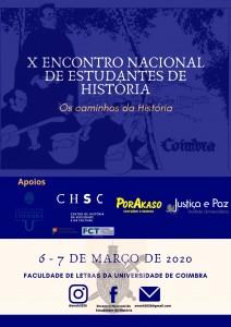 X ENCONTRO NACIONAL ESTUDANTES HISTÓRIA