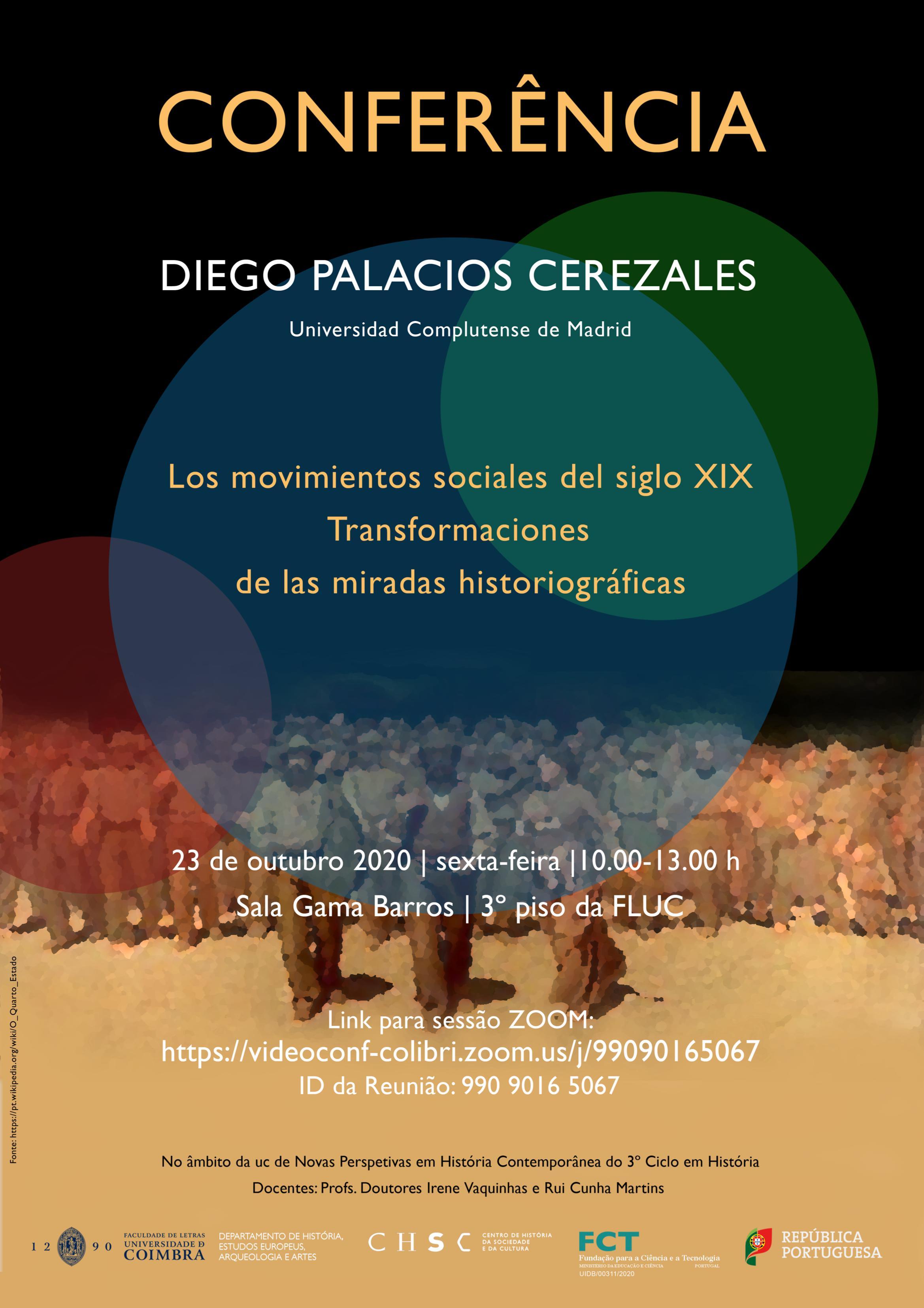 CONFERÊNCIA – LOS MOVIMIENTOS SOCIALES DEL SIGLO XIX. TRANSFORMACIONES DE LAS MIRADAS HISTORIOGRÁFICAS