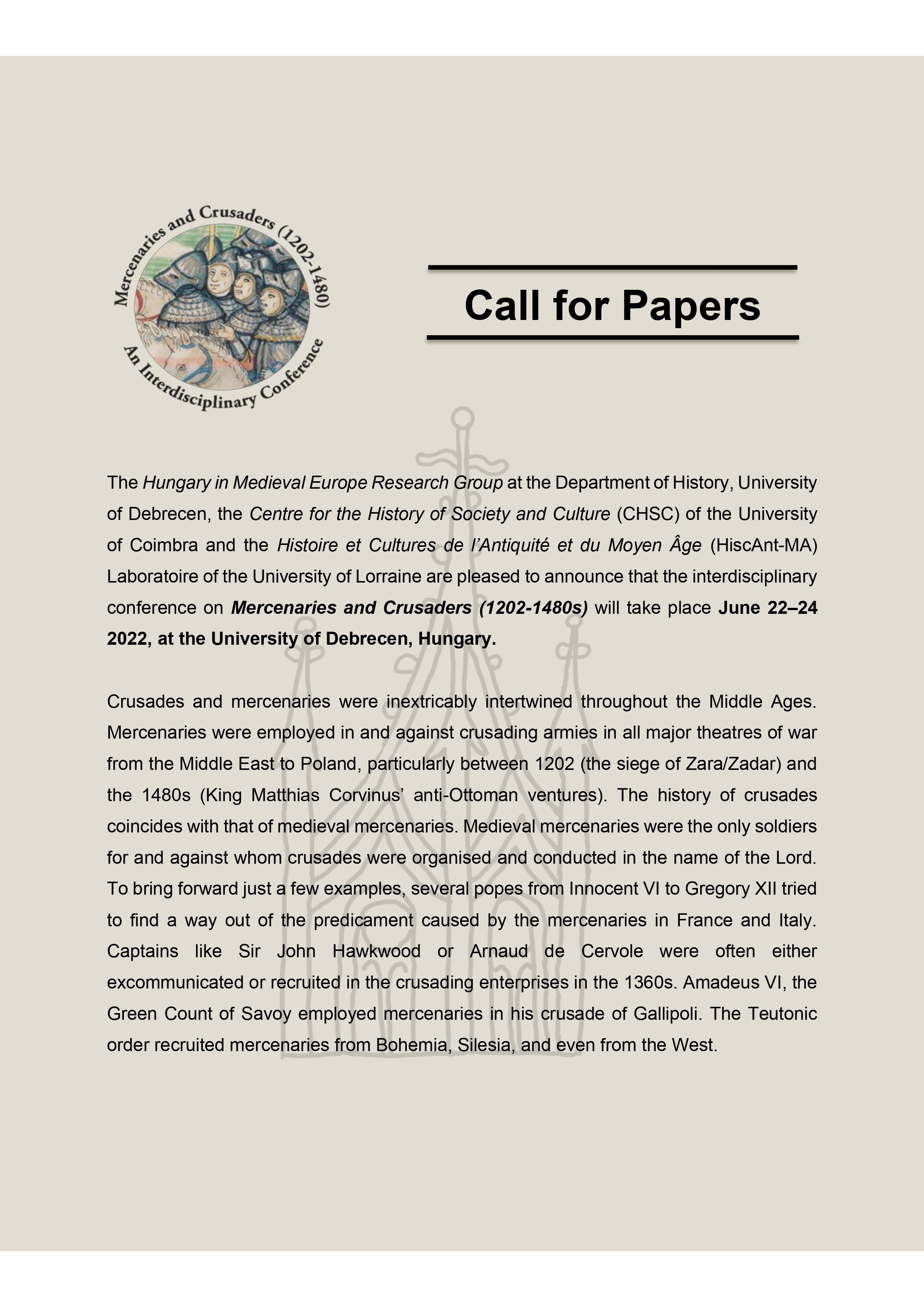 CONGRESS ON THE HISTORY OF THE ARCHIVES, DOCUMENTS & INFORMATION