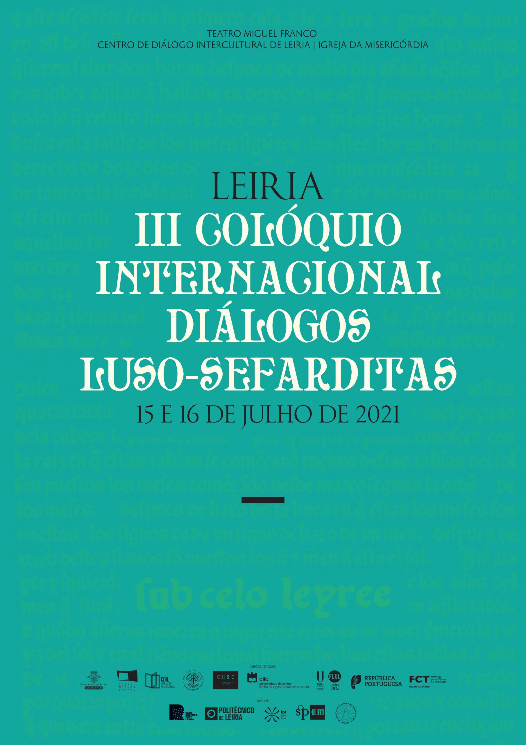 III Colóquio Internacional – Diálogos Luso-sefarditas